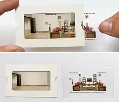 Transparent Insert Business Card