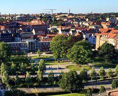 Mølleparken blev indviet i 1926 og ligger på hjørnet af Vester Allé, og Århus Å.  I modsatte ende af åen, ligger bygningen, der tidligere husede Aarhus Kommunes Hovedbibliotek.  Parken er anlagt oven på de gamle mølleenge ved Aarhus Å.  Mølleparkens historie strækker sig dog noget længere tilbage end 1926. Anlæggets historie er forbundet med historien om Aarhus Mølle, hvis eksistens nævnes første gang i 1289, og som menes anlagt af Valdemar Sejr. ____ Mølleparken was inaugurated in 1926 and…