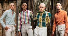 ニューヨーク発のファッションブランドHIROMI ASAI (ヒロミ・アサイ)から、2019年春夏メンズコレクションとして、伊勢木綿を用いたシャツやジャケットが発表されました。[gallery columns=