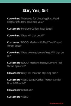 #funnystories #notalwaysright #customerstories #funnycustomerstories #techsupportstories #techsupport #reallifestories #funnycompilationstories #reallifestories Customer Service Jobs, Customer Stories, Not Always Right, Working In Retail, French Vanilla, Funny Stories, Yes, Equality, Funny Quotes