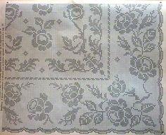 crochet em revista: esquemas crochet toalhas