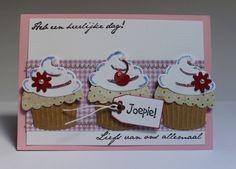 Gemaakt door Joke # cupcakes