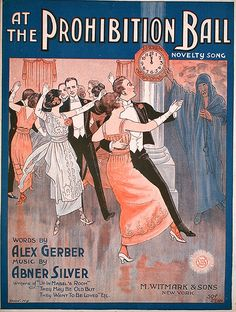 At The Prohibition Ball - Abner Silver -  Novelty Sheet Music by Confetta, via Flickr