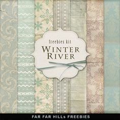 Textures – Winter River – Backgrounds 2013 » Free Hero Graphic Design: Vectors AEP Projects PSD Sources Web Templates – HeroGFX.com