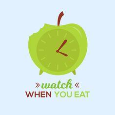 Asegúrate de comer alimentos ricos en calorías por la mañana y evita comer tarde por la noche cuando la digestión se vuelve más lenta. Así cuidarás tu digestión, tu peso y tu salud en general.
