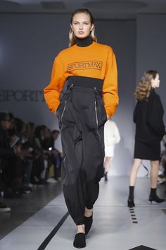 Sprortmax Ready To Wear Collection Fall Winter 2017 Fashion Show in Milan