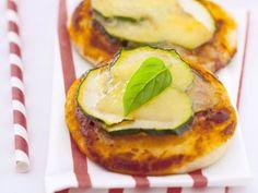 Mini Met pizza met courgette - Libelle Lekker!