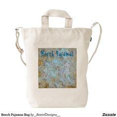 Beech Pajamas Bag Duck Canvas Bag