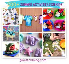 200+ Summer Activities for Kids! – Gluesticks