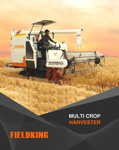 A multi-crop harvester performs multiple steps of harvesting in one go such as cutting, threshing and winnowing. It allow farmers to hravest largest of lands in few hours. #CombineHarvester #harvesterprice #harvestermachine #combineharvestermachine #harvestermachineprice #combineharvesterprice #harvestermachinepriceinIndia #combineharvesterpriceinIndia #minicombineharvesterprice Harvest Corn, Agriculture Machine, Combine Harvester, John Deere Equipment, Farmers