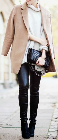 Leather   camel