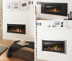 The Connelly Collection of gas fires from Fireplace Interior. www.firesandfireplaces.org.uk