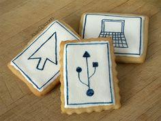 Geeky cookies from polishcookies.blogspot.com