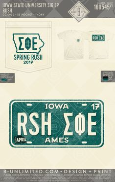 Iowa State- Sig Ep #BUonYOU #greek #greektshirts #greekshirts #fraternity #SigmaPhiEpsilon #SigEp #RUSH #Recruitment