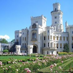 Considered one of the most charming castles in Bohemia, the original Hluboká Castle was built in the 1200's, and rebuilt over the years. In the 19th century, Johann Adolf II von Schwarzenberg, has it rebuilt in the style of England's Windsor Castle. It was owned by his family until 1931, when his heir fled the Nazi occupiers. Occupied by the Gestapo during World War II, today it's a Czech Historical Site and open to visitors. Its towers, balconies, and baroque detailing definitely add to…