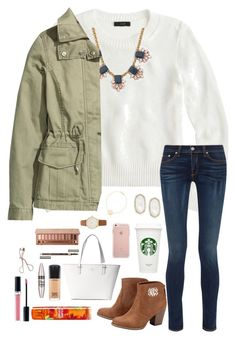 """""""1 month till my birthday"""" by pandapeeper ❤ liked on Polyvore featuring J.Crew, H&M, rag & bone, Kate Spade, MAC Cosmetics, Maybelline, Christian Dior, Clarins, Charlotte Tilbury and Urban Decay"""