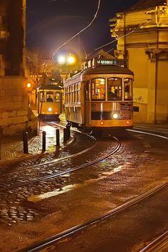 Evening Lisbon by Elena Solovieva