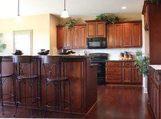 Brindleton Maple kitchen cabinets - traditional - kitchen cabinets - kansas city - Cabinet Giant
