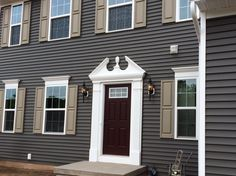 Wedgewood Siding With White Trim Think This Is The One