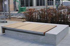 c127c08 - large type 5 wall mounted bench