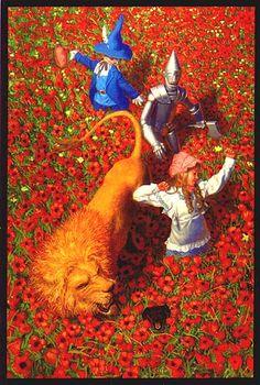 POPPIES! - WIZARD OF OZ - BY GREG HILDEBRANDT