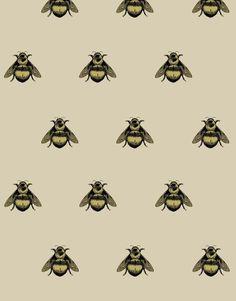 Timorous-Beasties-Napoleon-Bee-Wallpaper-entomology.jpg 1,200×1,532 pixels