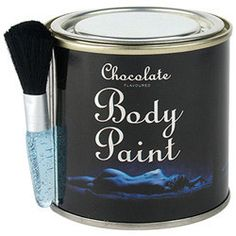 Get down and raunchy with your lover and spread some chocolate love on their body with the sensational Chocolate Body Paint Tin and Brush, after all who doesnt love the taste of chocolate especially when licked off skin.The fabulous Chocolate Body Paint Tin and Brush is a 200 gram tin of chocolate body paint it comes complete with a soft bristle blue handled paint brush, so you can paint your lovers most intimate areas with the sweet delight of chocolate.With the sensational Chocolate Body…