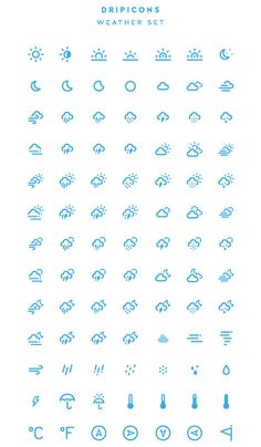 New free PSD icons released in 14 Sets with free icons available in Sketch, AI, SVG, EPS and PSD formats. Icons Web, Organization Bullet Journal, Weather Icons, Journal Aesthetic, Pictogram, Line Icon, Icon Design, Design Design, App Icon