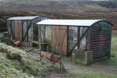corrugated metal houses