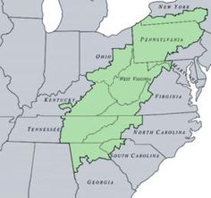 appalachian mountains map us » Path Decorations Pictures | Full Path ...