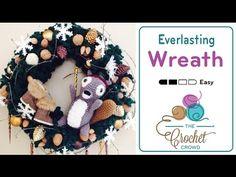 How to Crochet a Wreath: Everlasting Wreath - YouTube