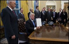 President Donald Trump today signed an executive order to defund International Planned Parenthood. Learn more...