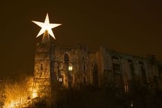 Starry Nights by AirVag, part of Lumiere, produced by Artichoke in Durham 2009. Photo copyright Matthew Andrews.