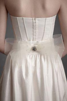 cute wedding detail by BHLDN