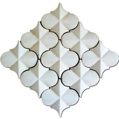 The La Terre Collection (From Exquisite Surfaces) features Moorish inspired, hand-stenciled terra cotta tiles that evoke an old world look while maintaining a contemporary and versatile feel Le Palace, Hexagon Shape, Hexagon Pattern, French Oak, Moorish, Tile Design, Mosaic Tiles, Tiling, Decoration