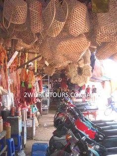 SIEM REAP MARKETS 2WORLDTOURS.COM.AU Siem Reap, Weaving Projects, Angkor, Cambodia, Textiles, Colours, Destinations, Knitting Projects, Fabrics