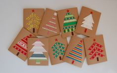 15 ideas for homemade Christmas cards | Ženska.si