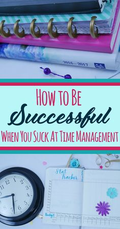 "You can be a little lazy, disorganized, have a ""Type B"" personality, and be perfectly capable of succeeding at time management! However, you need different strategies to find success. Time management tips, tools, techniques, and resources to help motivate and improve your time management skills. #timemanagement #bulletjournal #planning #productivity #organization #selfimprovement"