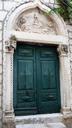 Brilliant old doors...Crotia