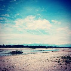 #ShareIG #tagliamento #friuli #italy #river #fiume #alpi #landscape #clouds #sky #water #friends #party #sunday