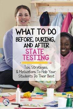 State testing can be stressful for teachers and students. So how can you help your students prepare and perform before, during, and after the test? This blog post has helpful ideas for 5 days of test preparation that will give your students tips, strategies, activities and motivation to do their best! Plus you'll see how to bring a little bit of fun into this important time of the school year. #testprep #3rdgrade #math #readin