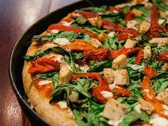 Italian Food - Pollo Gourmet Pizza