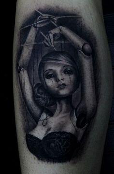 Puppet Tattoo Best tattoo design ideas