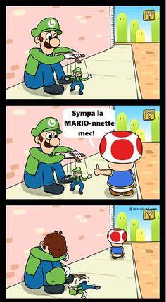 Rest in Peace Green Mario Video Humour, Funny Video Memes, Funny Jokes, Nintendo Super Smash Bros, Super Mario Bros, Geeks, Humour Geek, Frases Humor, Hilario