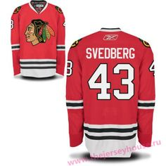 Mens Chicago Blackhawks  43 Viktor Svedberg Red Home Hockey Stitched NHL  Jersey Chicago Cubs 8e341fca8885