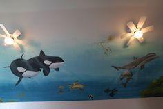 Ceiling Mural - Under the Sea - Ocean