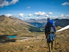 16 Best Hikes in Banff, Jasper and Waterton Lakes National Parks Canada's Rocky Mountain national parks beg exploration—boundless and beautiful, these wild spaces offer some of the best hiking in the world. Here are 16 top treks to get you started: Camping And Hiking, Hiking Trails, Backpacking, Hiking Spots, Waterton Lakes National Park, Rocky Mountain National Park, Canada National Parks, Parks Canada, Canada Trip