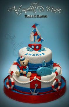 sailor bear cake