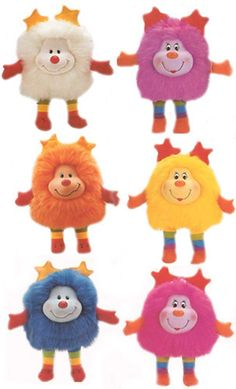 Rainbow Brite Sprites... I was all about the sprites! circa 1986.