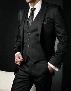 Best Selling 2018 Men's Suits Italian Black Wedding Suits For Men . - Best selling 2018 men's suits italian black wedding suits for men groom suit men tuxedo suits - Groom Tuxedo, Tuxedo Suit, Tuxedo For Men, Black Suit Wedding, Wedding Men, Wedding Dress, Wedding Suits For Men, Geek Wedding, Dress Prom